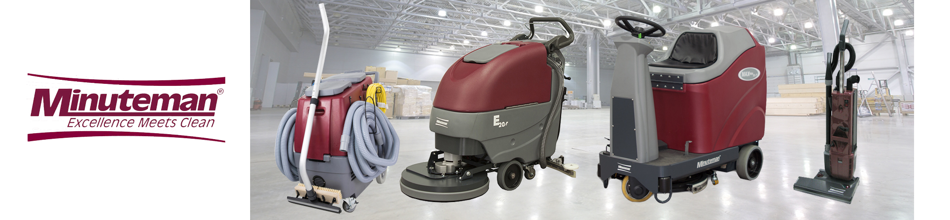 Minuteman - Excellence Meets Clean - janitorial equipment